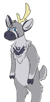 Reindeer Adopt by PizzzaBagels