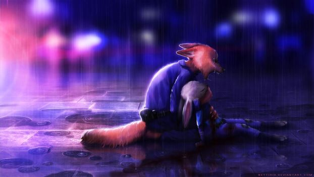 Wake up (Zootopia Fanart) by Neytirix