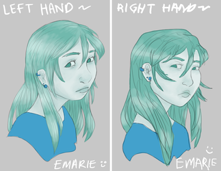 Right Hand Challenge by emarie-tostada
