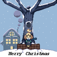 Merry Christmas From Isabelle by TechM8