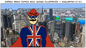 EBC #122: Songs Illustrated: Englishman in NY by EnergyBrainComics