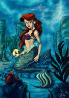 The Little Mermaid by SuperJean83
