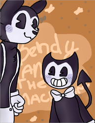 Bendy and the ink machine by Lissany626