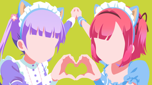 momiji y aoba new game minimalist v2 by tekmac