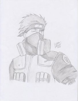 Shaded Kakashi by Starry-Dawn