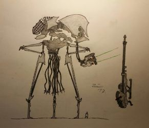 H. G. Wells' War Of The Worlds: Martian Tripod  by TheDubstepAddict