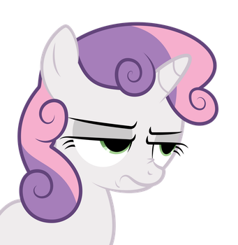 Sweetie Belle - Srsly by bobsicle0
