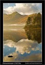 Derwentwater on Xmas Day by Andrew-and-Seven