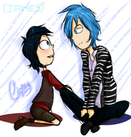 .James and Mr.James?. by xiomicchi