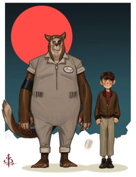 Barf and Lonestar by FUNKYMONKEY1945