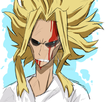 All Might by JuneReito