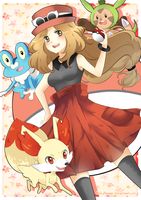 Pokemon XY by RikkuHanari