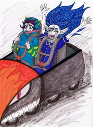 WE'RE GOING TOO FAST! by Eddie-chan