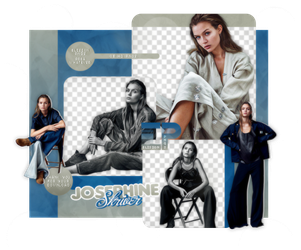 PACK PNG 528 // JOSEPHINE SKRIVER by ELISION-PNGS