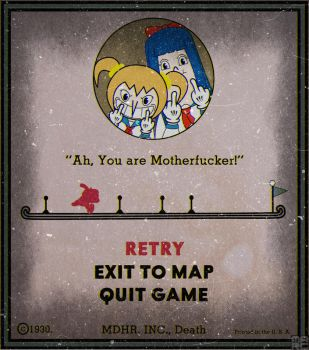 Game Over Screen Parody (Pop Team Epic) by LordTrollzorSenpaii