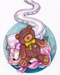 Once Upon a Wash: Teddy Friend Autumn by lemurkat