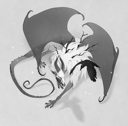 Sk: Ghost-Plume by QuillCoil