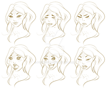 Seralium - Expression Sheet by posteyam