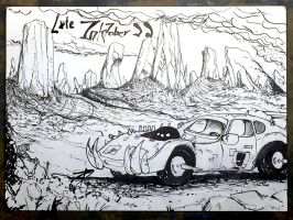 Broken Desert (Late Inktober 22) by BLiNKBuGGBirahki