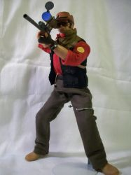 Team Fortress 2 Sniper Doll by JNorad