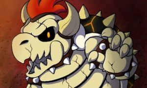 Dry Bowser by Coksii