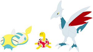 Dunsparce, Shuckle and Skarmory Base