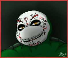 Day of the Dead Raphael by Myrcury-Art