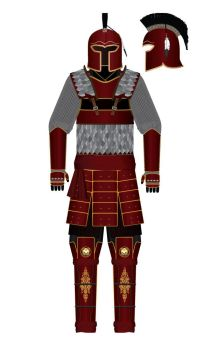 Armor of the Red Knight by AlanSteenhouwer