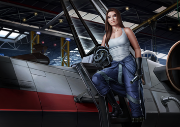 Flight Officer Rianni Losator alternate by Shoguneagle