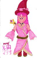 Scarlett, the Pink Witch by DBCDude01