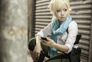 Resident Evil 6 - Sherry by maocosplay