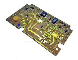 Satellite LNB microwave mixer board by attilasebo