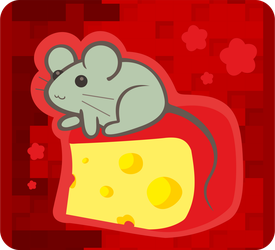 Mice on Cheese by Kna