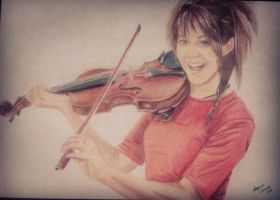 Lindsey Stirling by MANUCHAANN