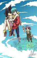 DBZ: Tag-Along by YoukaiYume