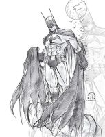Batman Warm up by JoeyVazquez