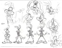 howtodraw-RogerRabbit2 by cartoonkate