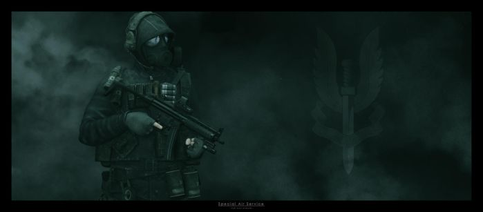 Spec-Ops: Special Air Service by TRRazor
