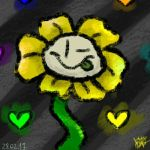 *Five seconds before Omega Flowey * by Kristalina-Shining