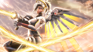 Mercy - Overwatch by Chaepae