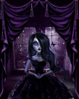 Gothic Doll by PrincessInHeaven