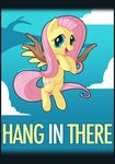 Hang In There Fluttershy by zombie