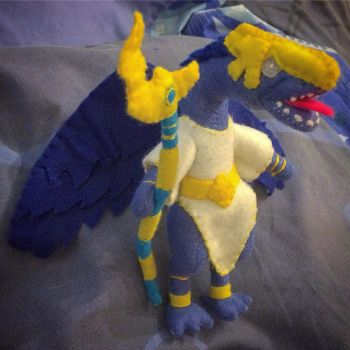 Warhammer - Lord Of Change Plush by Jack-O-AllTrades