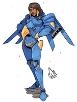 Pharah by KingKaijuice