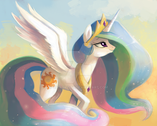 Celestia by CuteSkitty