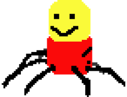 Despacito Spider pixel art by Greenbloxs