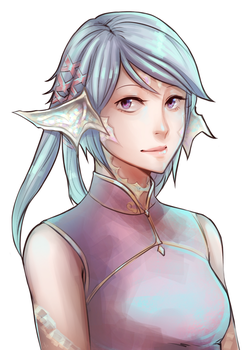 FFXIV Commission: Neoma by Hallowrook