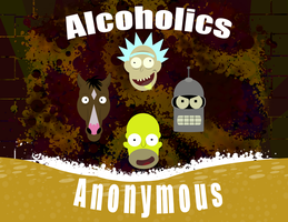 Alchoholics Anonymous by M41Aconner