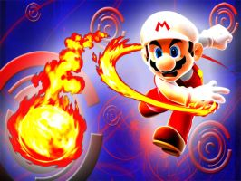 Fiery Mario by vista-man