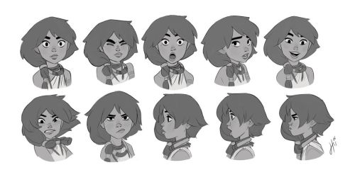 Raki expressions by JustaBlink